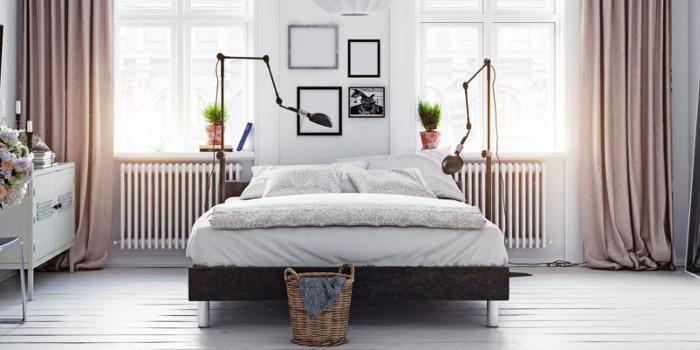 Twardy materac - sypialnia